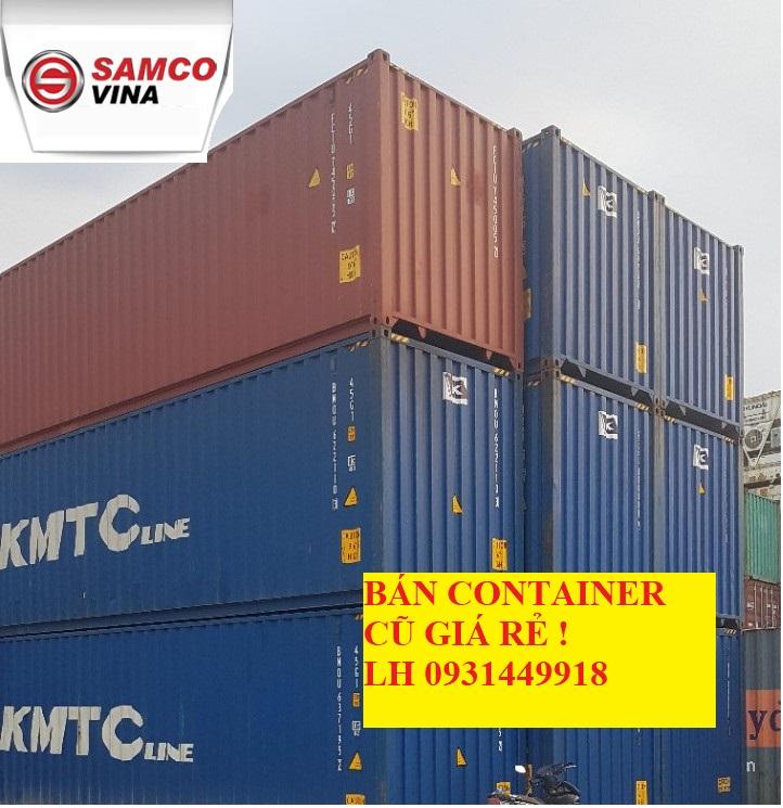 Cần bán hóa giá một số Container bãi với giá tốt